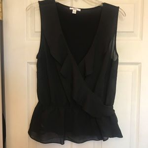 EUC Bar III black blouse